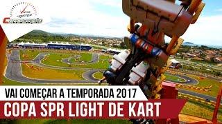 Vai começar a temporada de 2017 da Copa SPR Light de Kart em Penha (SC) I Programa Competição