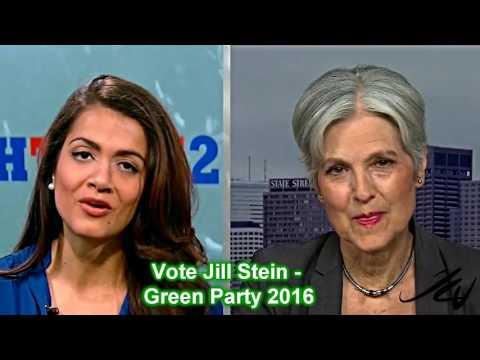 """Jill Stein Green Party 2016 - Great Interview - """"Feel the Jill """"  YouTube"""