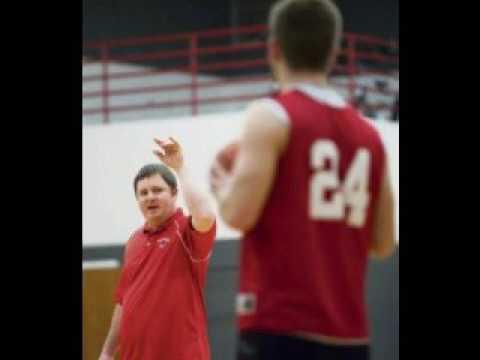 Saltsburg Pre-game warm-up basketball