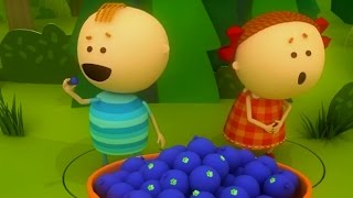 Аркадий Паровозов спешит на помощь - Почему нельзя есть ягоды у дороги - мультфильм детям