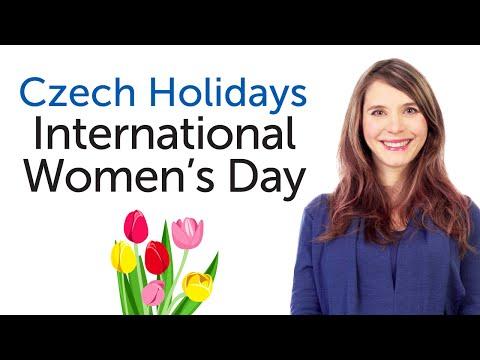 Czech Holidays - International Women's Day - Mezinárodní den žen
