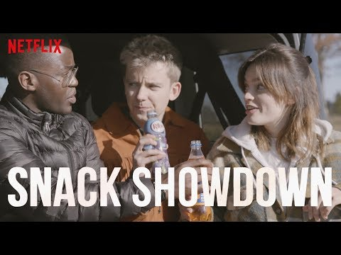 Sex Education Cast Snack Showdown | US vs UK | Netflix