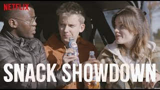 Sex Education Cast Snack Showdown | US vs. UK | Netflix