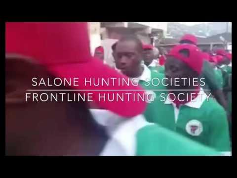 Frontline Hunting society Freetown, Sierra Leone Ogun Day play Nov 2016