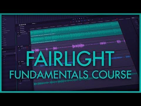 Fairlight Mini Course: Dialogue Mixing in DaVinci Resolve's Fairlight