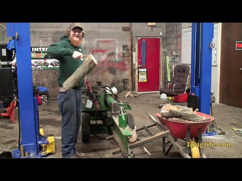building a wood splitter table