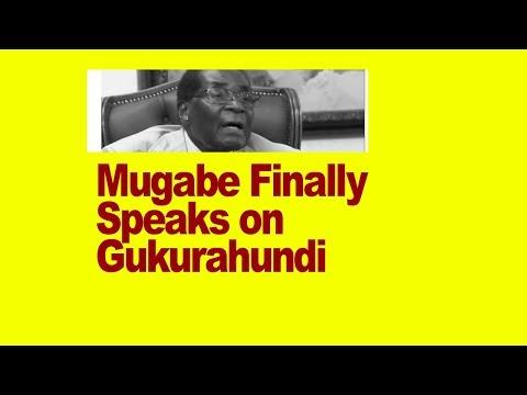 Mugabe Finally Speaks on Gukurahundi, Blames The Ndebele, Says it was necessary