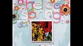 Hello spring - process video
