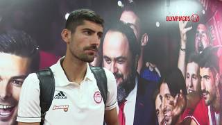 O Ανδρέας Μπουχαλάκης στο Olympiacos TV! / Andreas Bouchalakis on Olympiacos TV!
