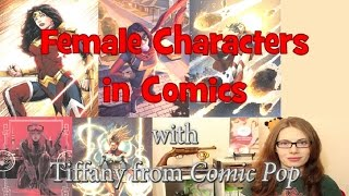 The Development of Female Characters in Comics