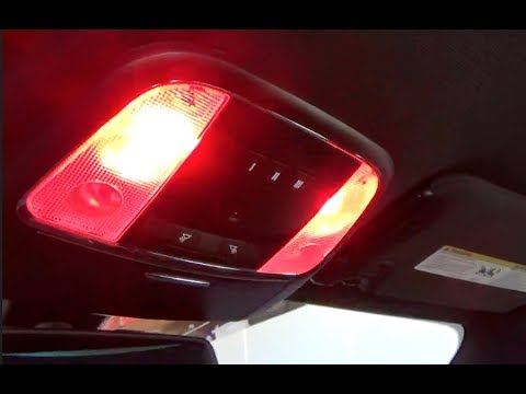 2016 Dodge Charger Map Light Replacement Led Red