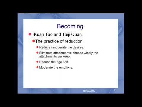 Becoming (Reduce the Ego)