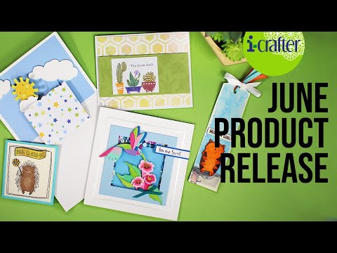i-crafter June New Product Release