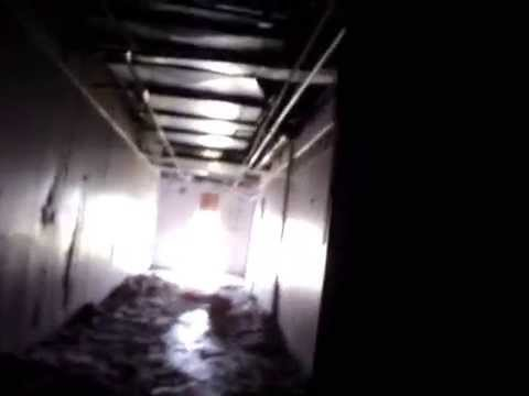 Video of morgue area with several EVP's Haunted Hospital Building Baytown, Texas