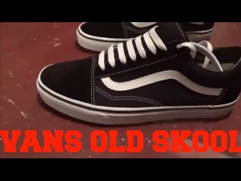 581391ac88 VANS OLD SKOOL UNBOXING