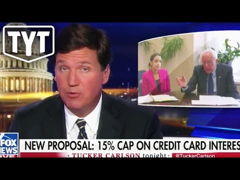 Tucker Carlson Defends Bernie Sanders