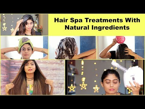 HAIR SPA Treatments With NATURAL Ingredients | Rinkal Soni
