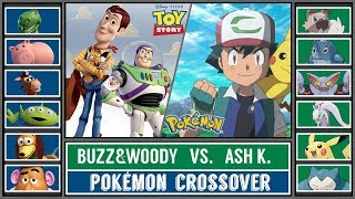 Toy Story 4 Special: ASH vs. BUZZ&WOODY! (Pokémon Sun/Moon) - Crossover