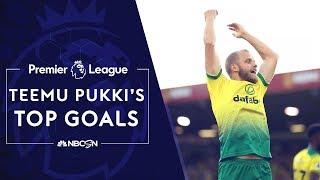 Norwich City's Teemu Pukki's top Premier League goals | NBC Sports