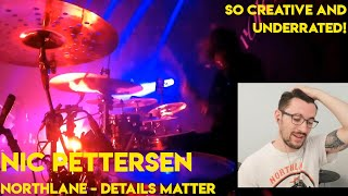 Drum Teacher reacts to Nic Pettersen (Northlane - Details Matter Live Cam)