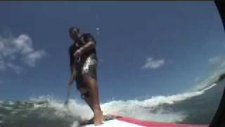 SUP Stand Up Paddle Surfing Boarding - Maui Hawaii