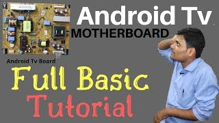 Android TV Repair Institute | Android TV Mother Board Full Basic Tutorial