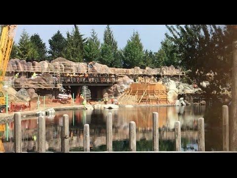 Disneyland - 5/12/17 The Rivers of America/Critter Country