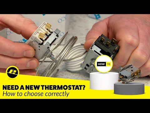 How To Choose The Correct Fridge Freezer Thermostat Youtube