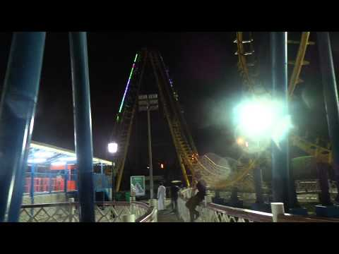 ROLLER COASTER RIDE - AT AL SHALLAL THEME PARK, JEDDAH SAUDI ARABIA