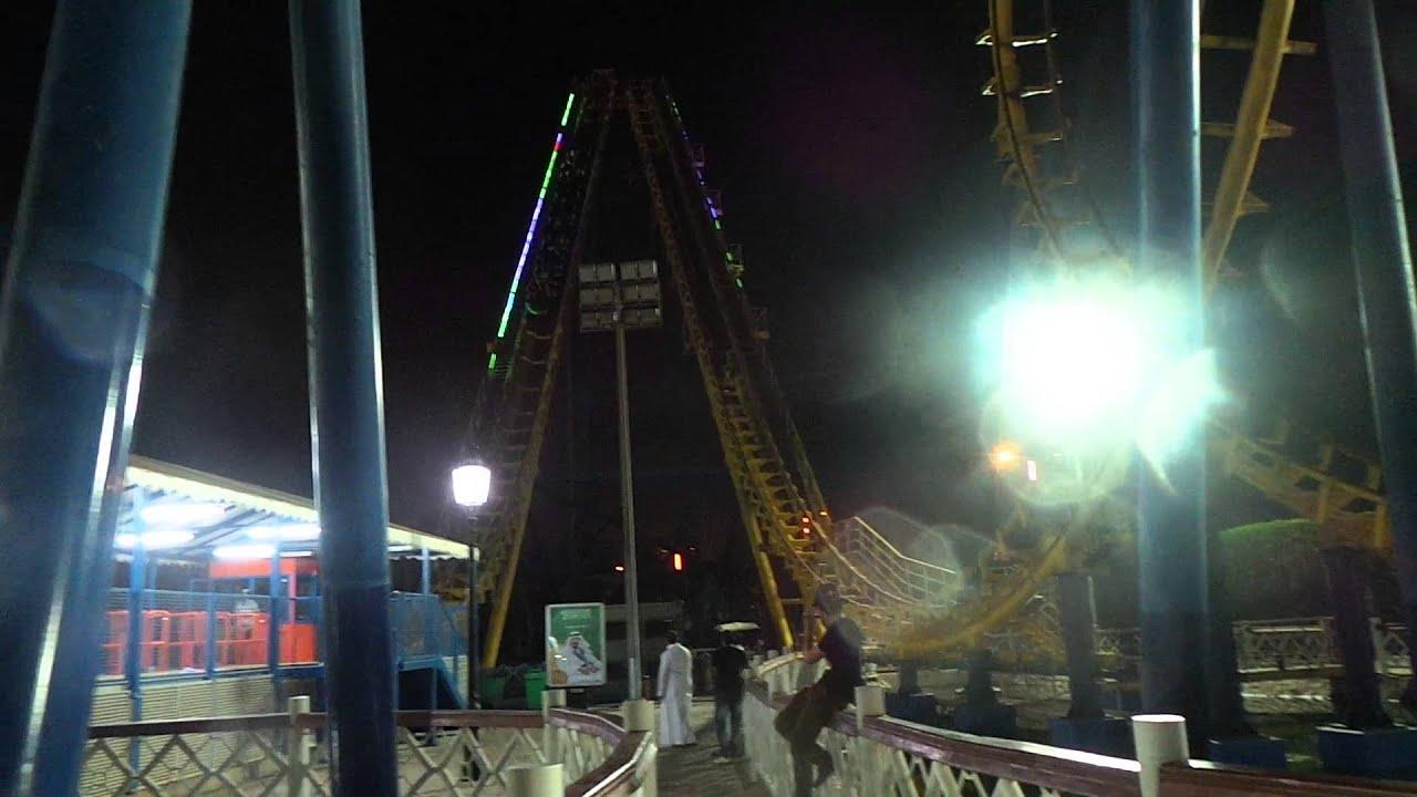 The Good Ride >> ROLLER COASTER RIDE - AT AL SHALLAL THEME PARK, JEDDAH SAUDI ARABIA - YouTube