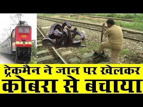 Railway Trackman Saves