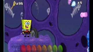 Sponge Bob Super sponge all boss part 1