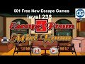 [Walkthrough] 501 Free New Escape Games level 238 - Escape from mini room - Complete Game