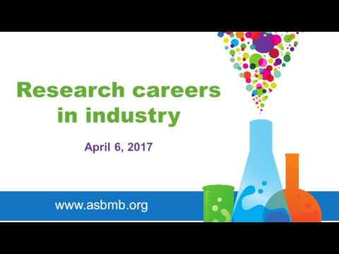 Research careers in industry
