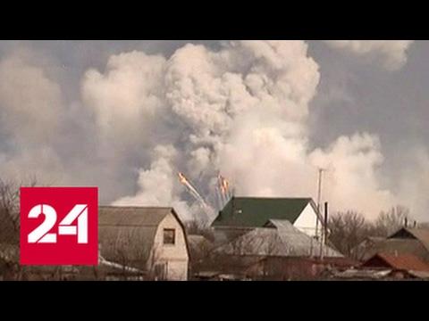 Пожар на складе под Харьковом: интенсивность уменьшается, угроза остается