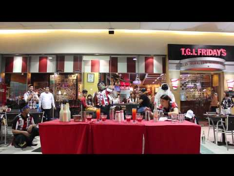 STARS BEHIND THE BAR SHOW AT TGIF MALL OF ASIA part 1