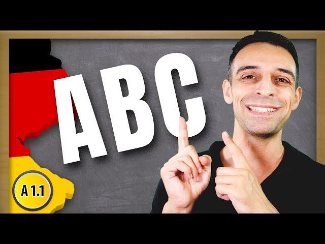 Das Alphabet | Learn the German alphabet Quick and Easy