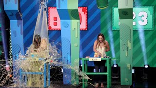Fan Wins $10K in a Slimy Game of 'Sloppy Seconds'