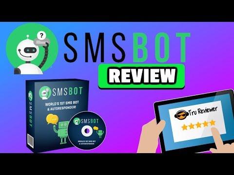 SMSBOT Review - World's First SMS Autoresponder Bot- 50+ Mega Bonus. http://bit.ly/327Bx0g