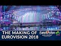 Capture de la vidéo The Making Of Eurovision Song Contest 2018 - Special Behind-The-Scenes Documentary (Ron K.)