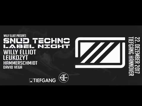 SNÜD Techno Label Night at Tiefgang Hannover // 22 Dez. 2017