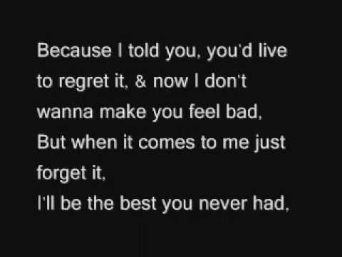 Leona Lewis - Best You Never Had ;; with lyrics