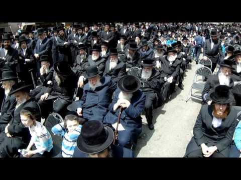 Funeral Rabbi Ephraim Fishel Hershkowitz
