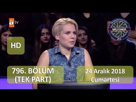 Kim Milyoner Olmak İster | 796. Bölüm HD | 24.12.2018 | TEK PART