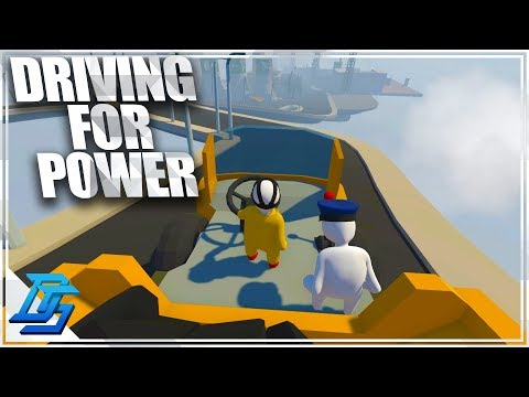 COAL POWER AND DRIVING TOO FAST! - Human: Fall Flat - Pt .6