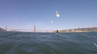 Kite foiling Mile Rocks 2020 05 23