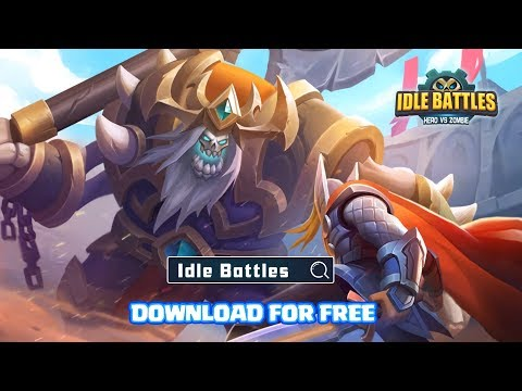 Idle Battles:Heroes vs Zombies