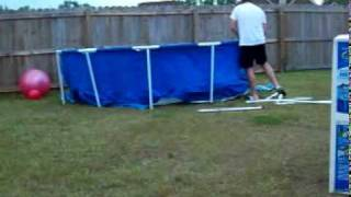 Intex above ground pool assembly - fast
