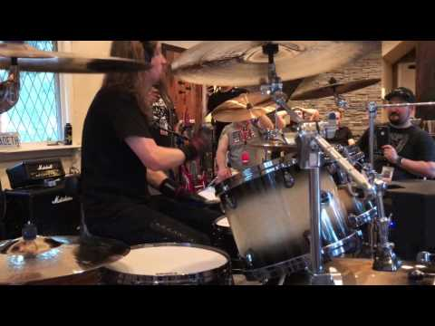 Dirk Verbeuren - Holy Wars play through @ Megadeth Bootcamp