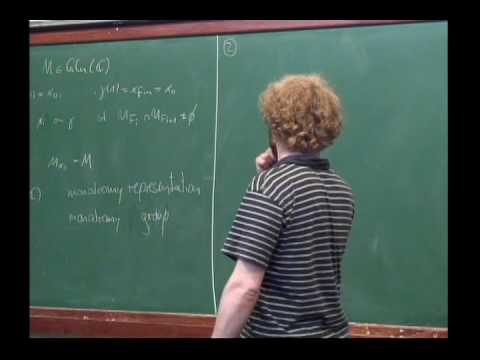 Arithmetic and Geometry of Picard-Fuchs Differential Equations - Joerg Hofmann